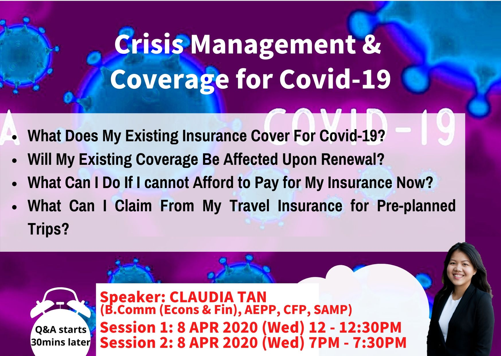 Covid Crisis Management & Coverage | ACTS-tensive Wealth ...
